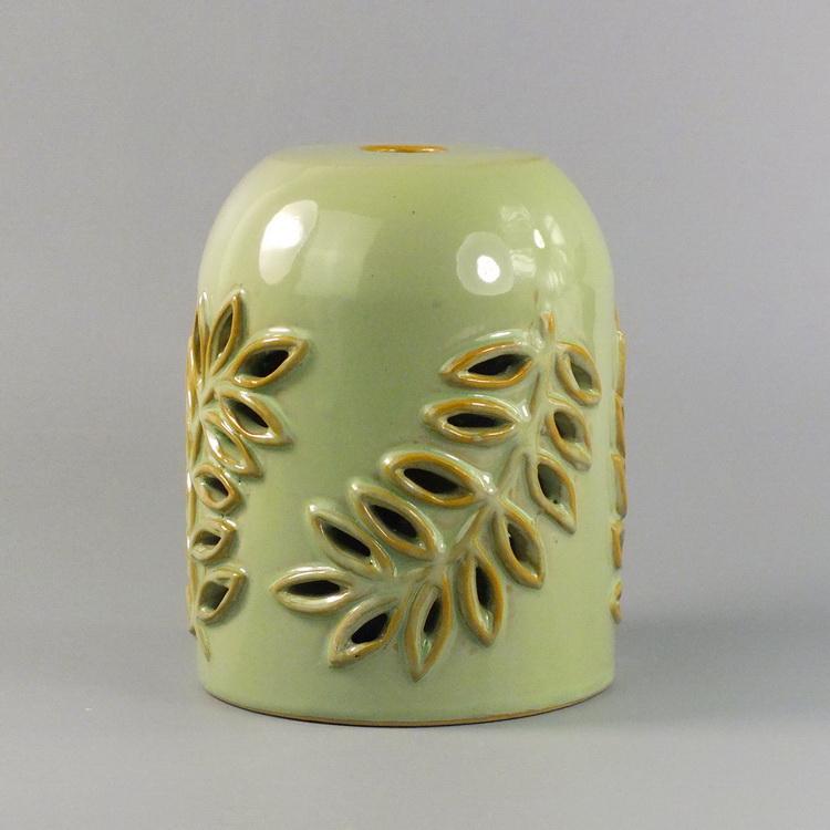 Aroma Diffuser Ceramic Leaf Cover