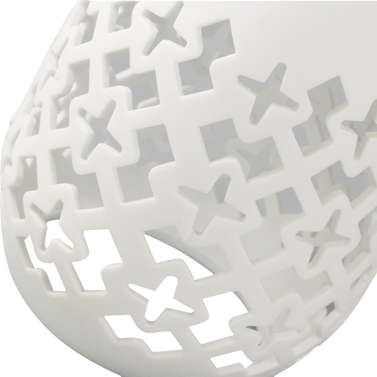 aroma diffuser porcelain oval details