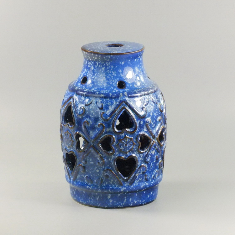 Ceramic air humidifier blue vase green life aroma diffuser for Air vase
