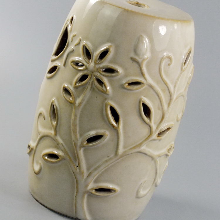 Aroma Diffuser Ceramic Butterfly Flower details