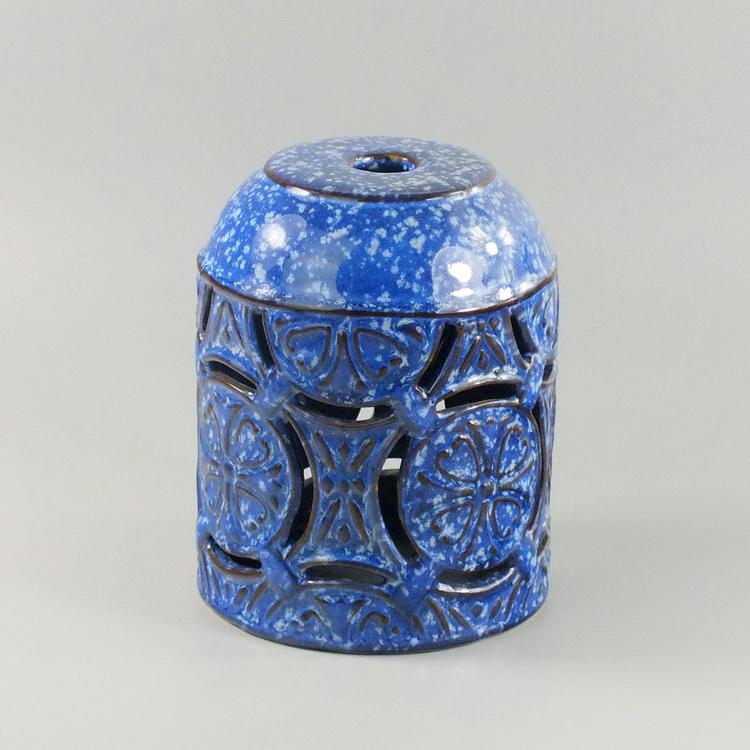 Aroma Diffuser Ceramic blue pattern cover