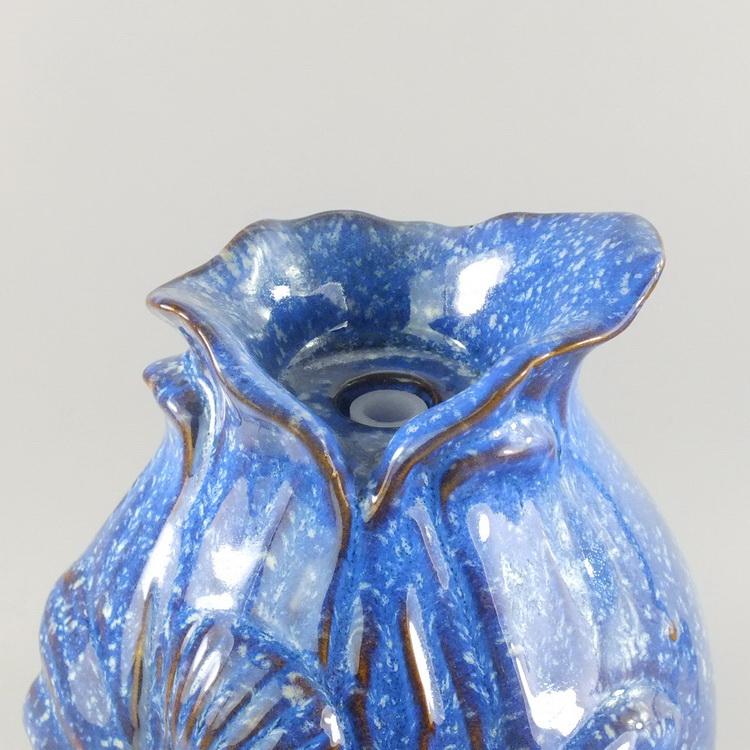 Aroma Diffuser Ceramic shell blue details