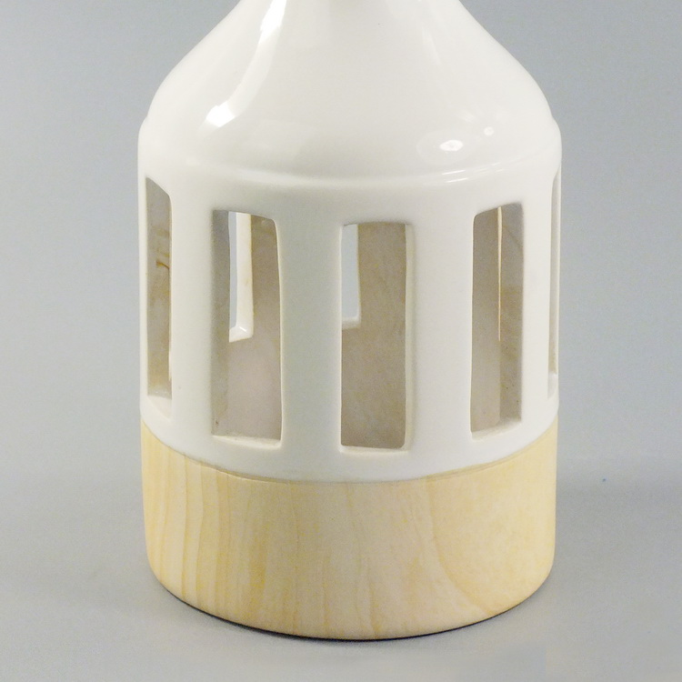 Aroma Diffuser ceramic woodbase medium details