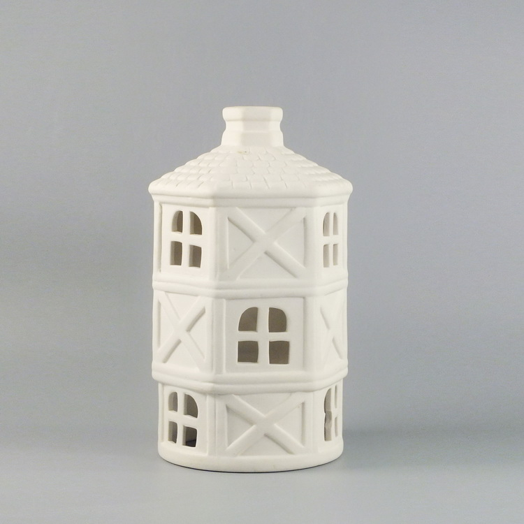 Aroma Diffuser porcelain white house cover