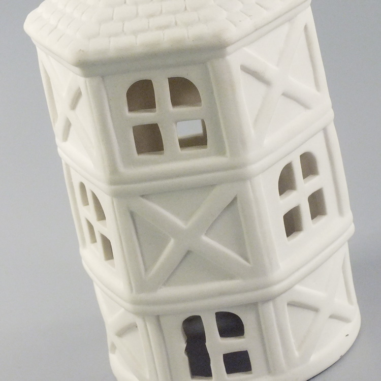 Aroma Diffuser porcelain white house details1