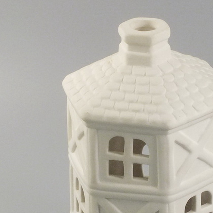 Aroma Diffuser porcelain white house details2