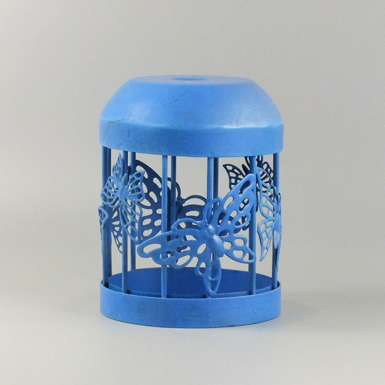 humidifier metal blue butterfly cover