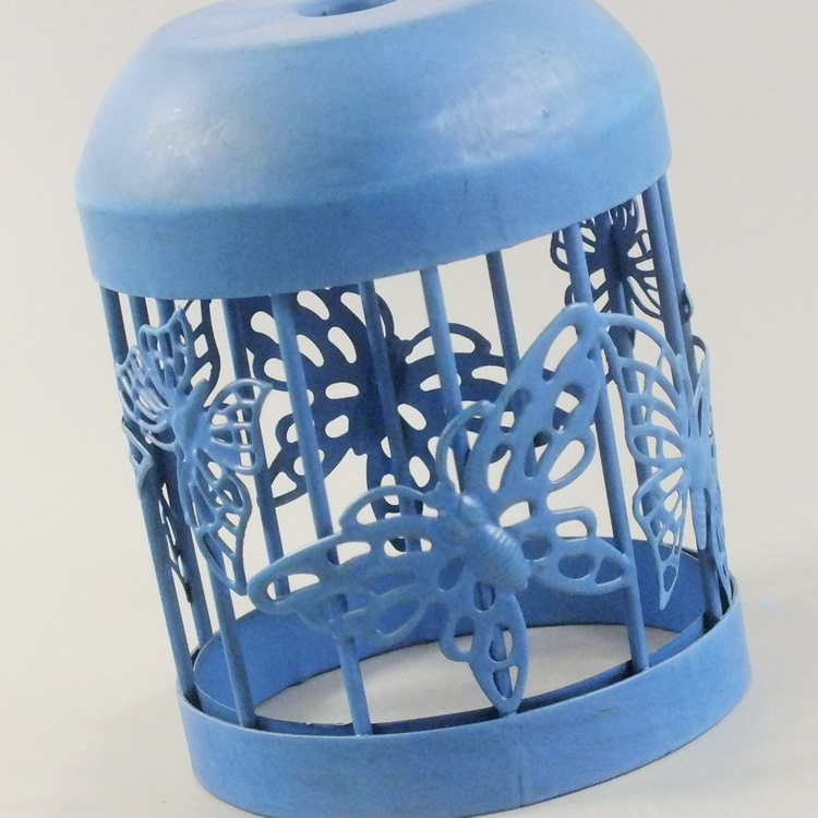 humidifier metal blue butterfly details1