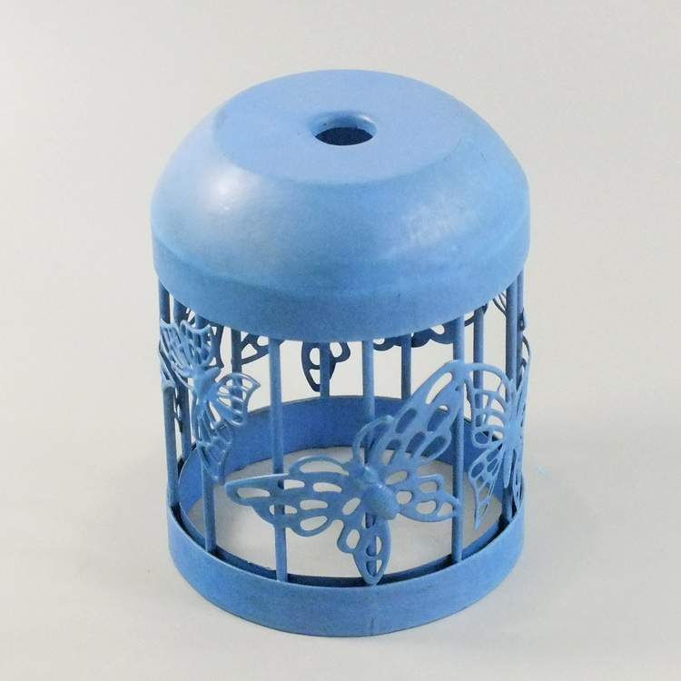 humidifier metal blue butterfly details2