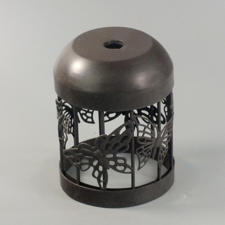 humidifier metal brown butterfly cover