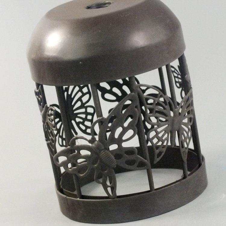 humidifier metal brown butterfly details2