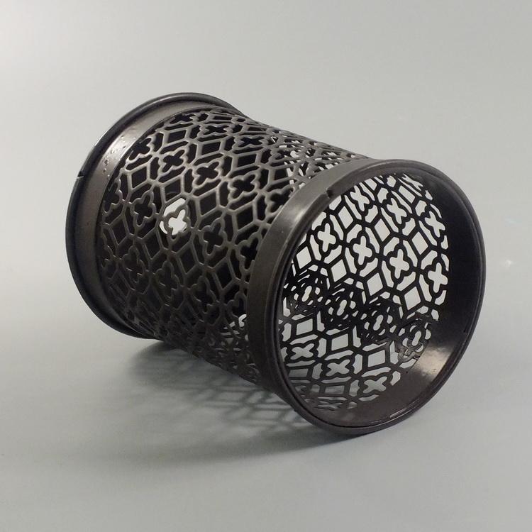 humidifier metal brown meander pattern details