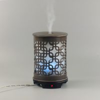 humidifier metal brown rectangle pattern