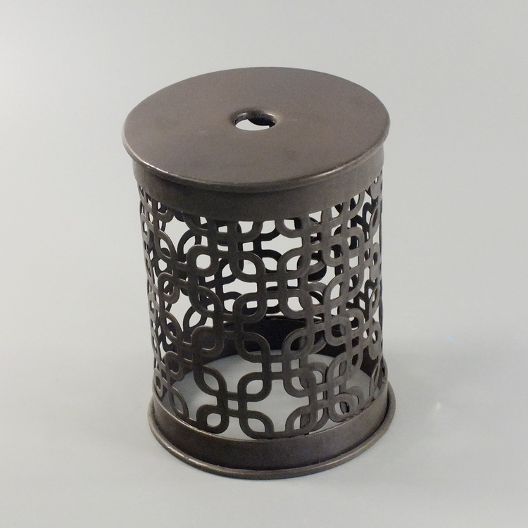 humidifier metal brown rectangle pattern cover