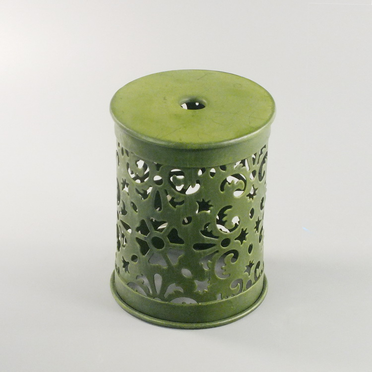 humidifier metal dark green hollowing cover
