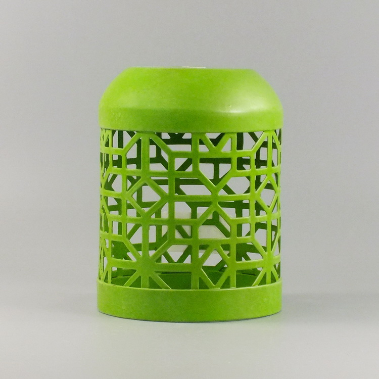 humidifier metal green hollowing cover
