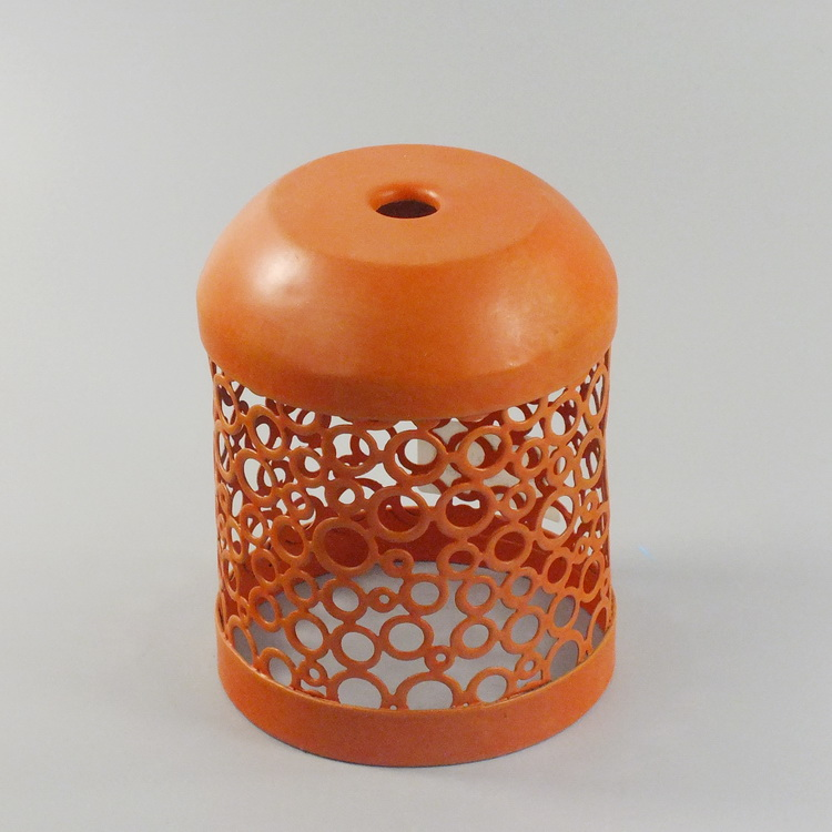 humidifier metal orange round pattern details2
