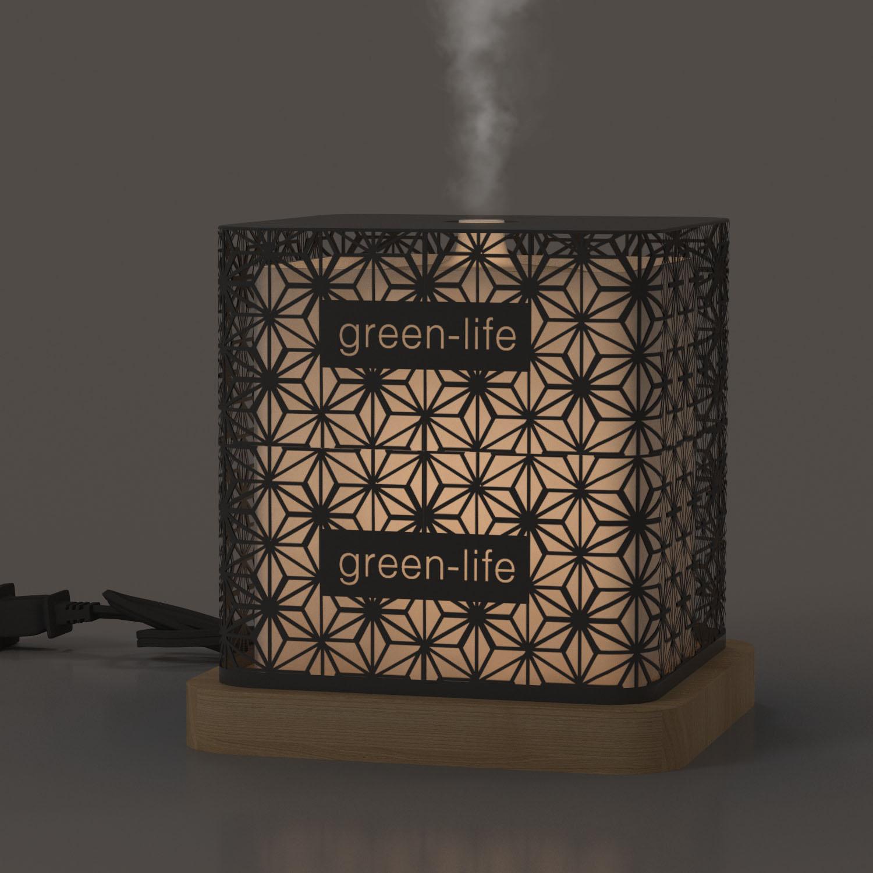 Metal Aromatherapy Ultrasonic Humidifier GLEA2110a-Z-1