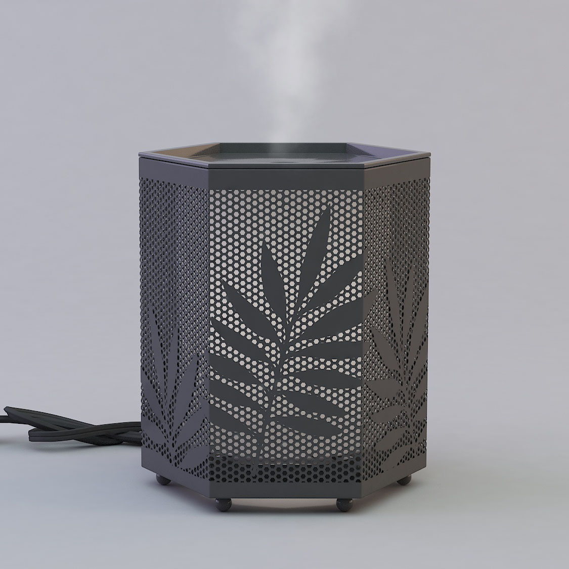 Metal Oil Diffuser Humidifier GLEA2114-Z-3