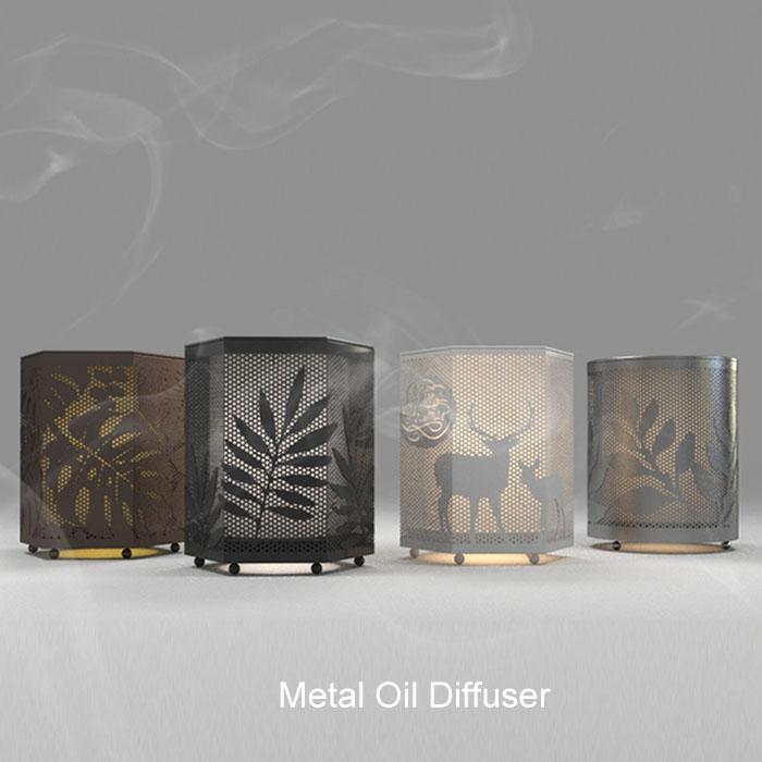 Metal-oil-diffuser