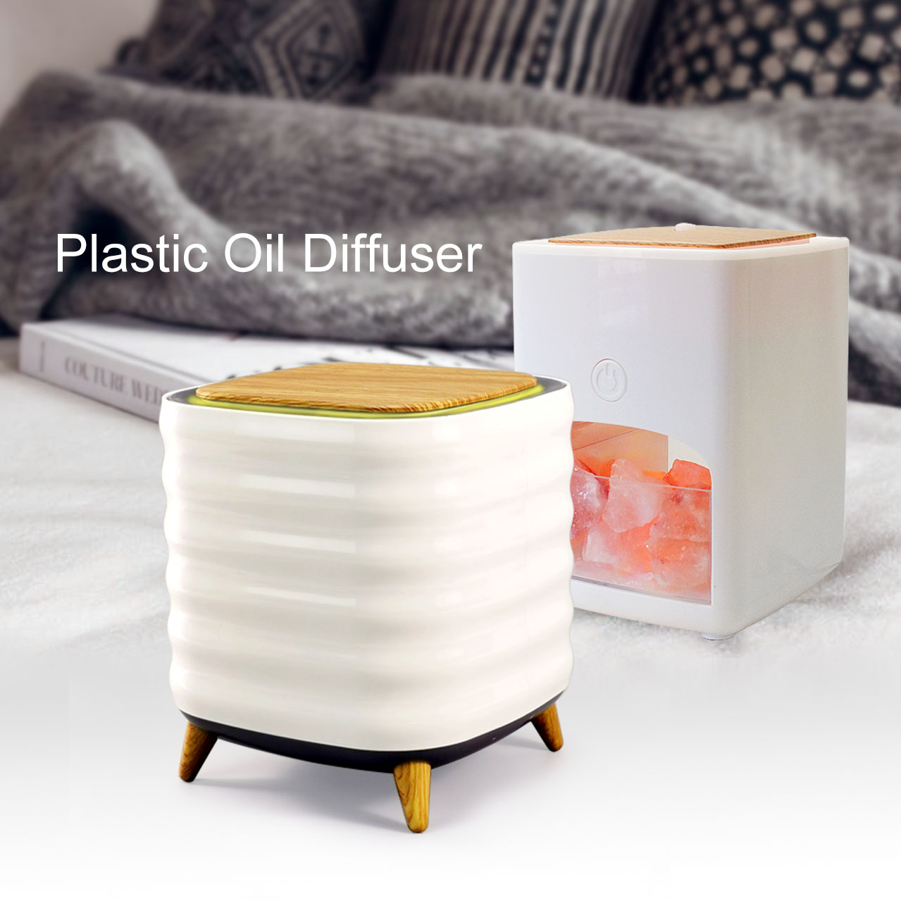 Plastic-oil-diffuser